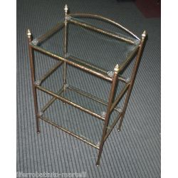 Bedside Table Wrought Iron. Customize Realizations. 876