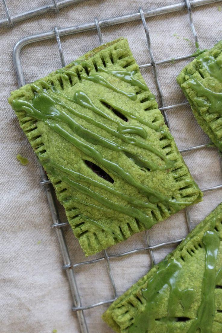Gluten Free Matcha Pop Tarts Matcha Recipe Pop Tarts Matcha Dessert