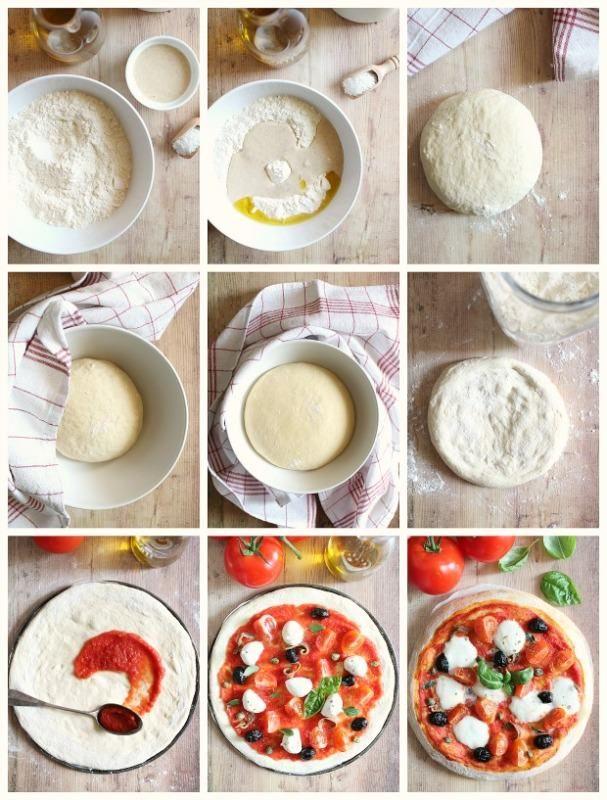Come fare l'impasto per la pizza fatto in casa