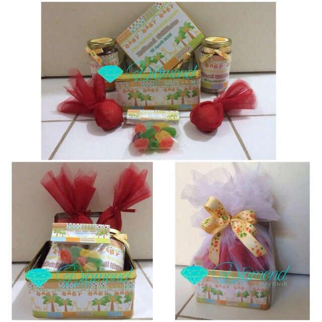 Baby boy one month old hampers giraffe theme