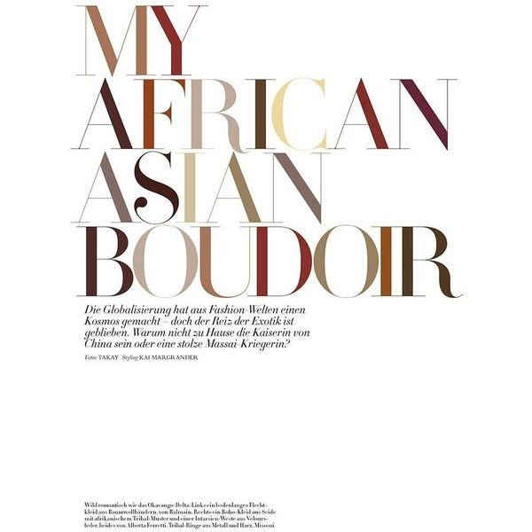 My African Asian Boudoir ❤ liked on Polyvore featuring article, text, phrase, quotes and saying