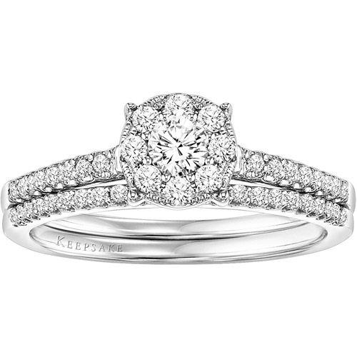 keepsake wedding ring sets