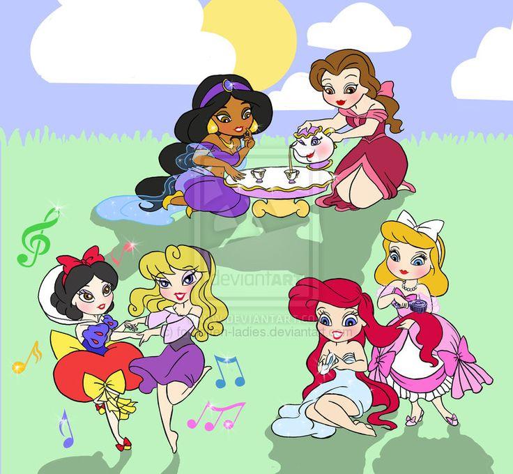 Disney Princesses compilation. by forgotten-ladies