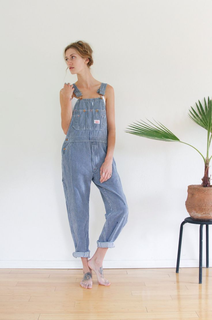 OVERALLS / PAINTERS Overalls VINTAGE Round House Overalls by shopfuture on Etsy