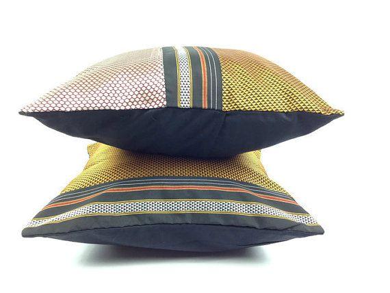 $35.13 Pillow Set of Two, Gold cushion, Silver Cushion, Boho Pillow, 16X16 Pillow Cover, Woven Pillow, Couch Pillow, Festive Decor, Sofa Pillow