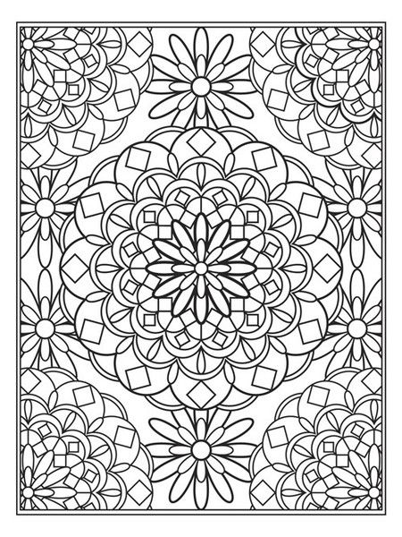 1000 Images About Kleurplaaten On Pinterest Cabin Rug Coloring Page