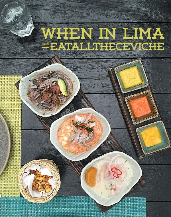 best ceviche restaurant la mar lima © Will Travel for Food