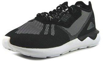 adidas Tubular Runner Weave Men Round Toe Synthetic Black Basketball Shoe.