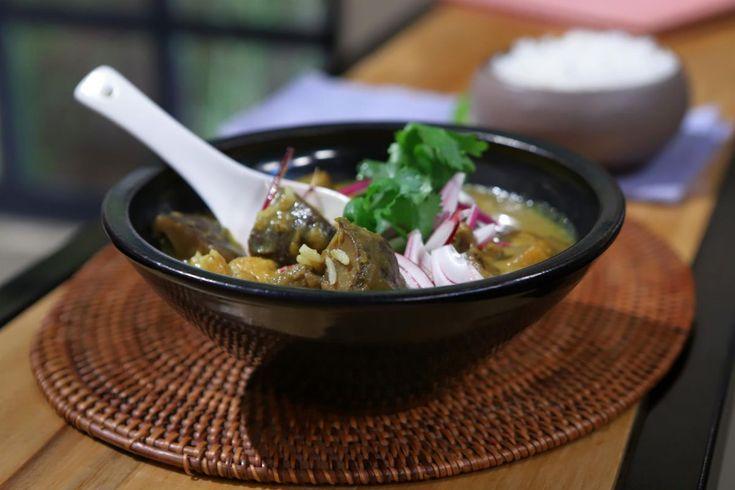 Un curry que no debes dejar de probar, receta de Lis Ra en El Gourmet. Pasta Al Curry, Asian Recipes, Ethnic Recipes, Ramen, Food And Drink, Cooking Recipes, Sweet, Gourmet, Gastronomia