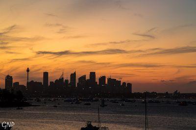 Sydney Sunset #citylife