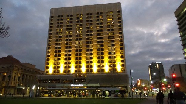 Hotel review of the Hilton Adelaide Hotel in South Australia - by Wilson Travel Blog