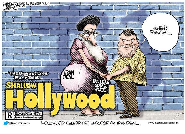 Michael Ramirez Cartoon 08/04/2015 - Hollywood