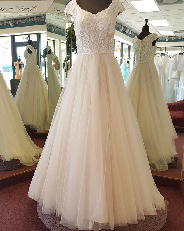 This Beauty Called Ophelia Sold To A Special Bride Today We Still Have Many Gorgeous Gowns In Store On Gorgeous Gowns Modest Wedding Dresses Gowns