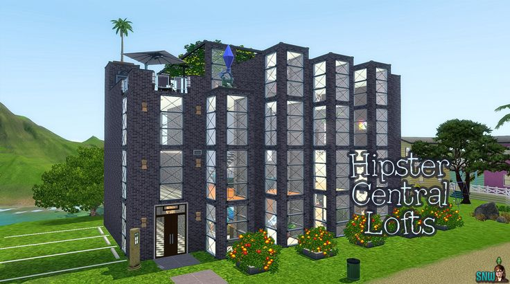 Hipster Central Lofts  #sims #thesims #desims #thesims3 #desims3 #hipster #lofts #apartments #studio #appartementen #flat #flats #snw #snwgames #simsnetwork #simsnetwerk  http://www.simsnetwork.com/downloads/the-sims-3/lots/hipster-central-lofts
