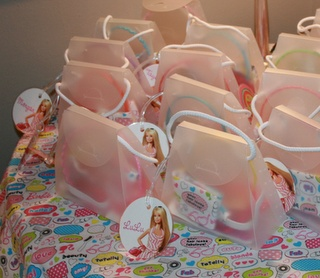 Favor Bags for Barbie Party