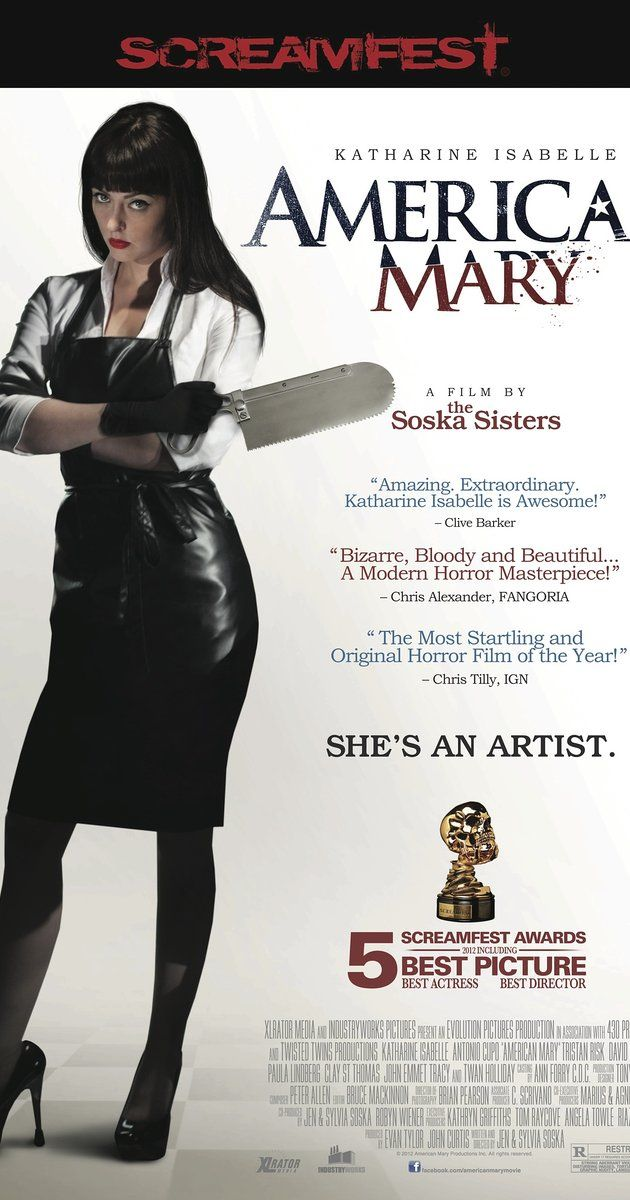 """Directed by Jen Soska, Sylvia Soska.  With Katharine Isabelle, Antonio Cupo, Tristan Risk, David Lovgren. The allure of easy money sends Mary Mason, a medical student, into the world of underground surgeries which ends up leaving more marks on her than her so called """"freakish"""" clients."""