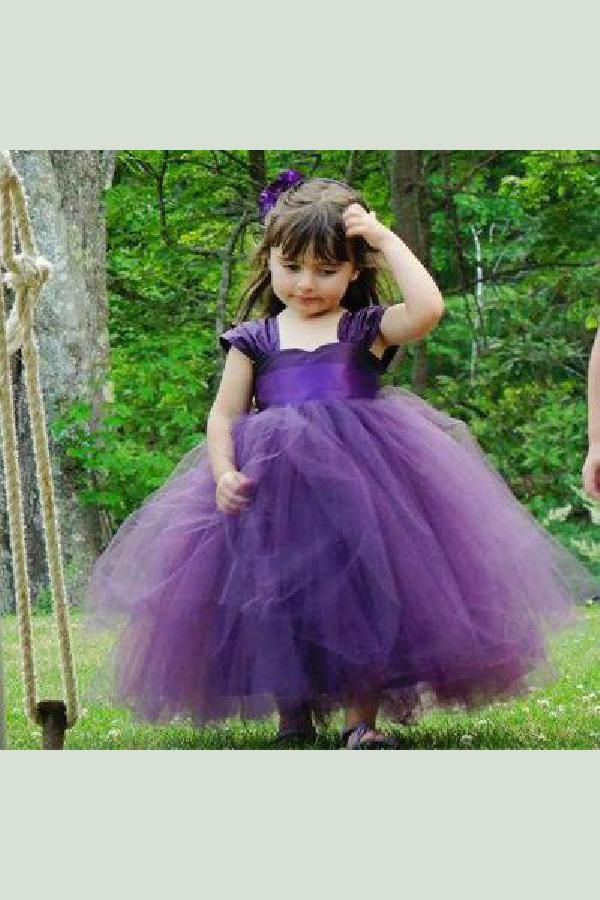 2de3bccaa4ca Cheap Flower Girl Dress, Purple Flower Girl Dress, A-Line Flower Girl Dress  #ALine #Flower #Girl #Dress #Purple #Cheap #CheapFlowerGirlDress ...