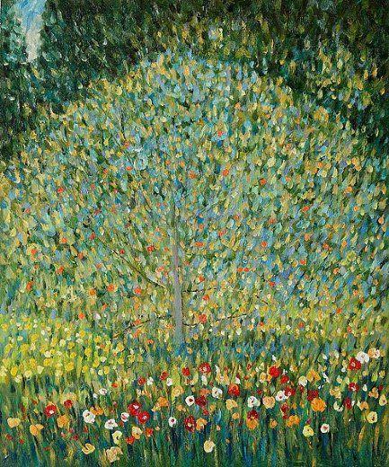 Gustav Klimt Apple Tree-Apfelbaum
