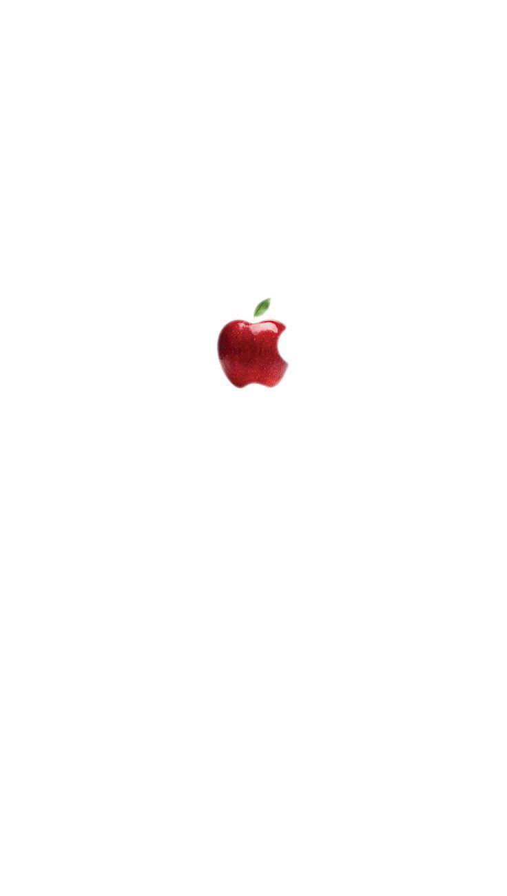 私は電話6の壁紙 ホワイトアップル ロック画面の壁紙ホワイト 私は