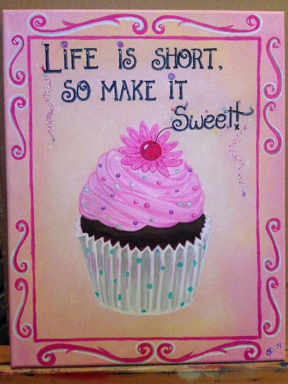 Acrylic Hand Painted on 11x14 Canvas, Great gift - Quotes on Canvas on Etsy, $26.50