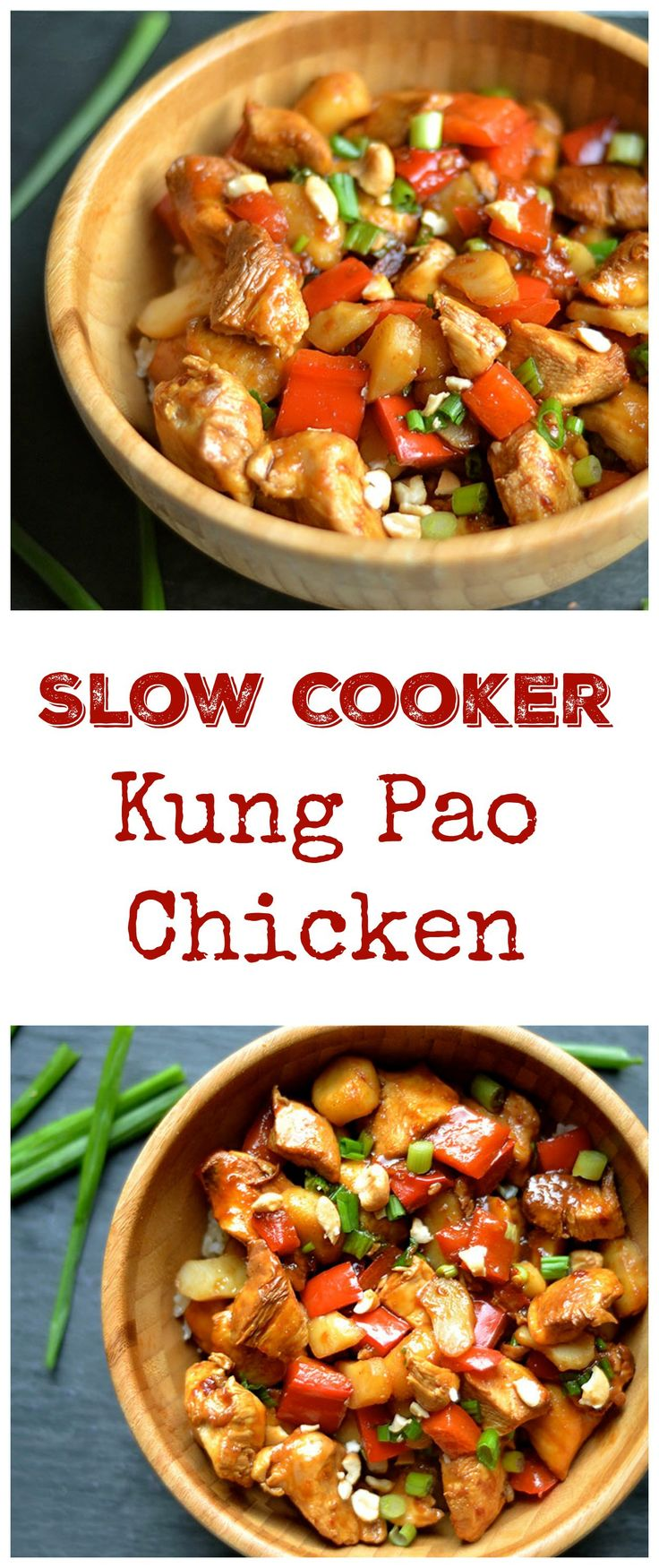 Slow Cooker Kung Pao Chicken Recipe Slow Cooker Recipes Slow Cooker Chicken Food Recipes
