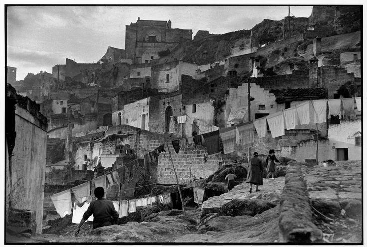 Henri Cartier-Bresson Matera. Basilicata. Italy (1951)