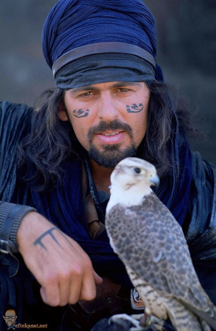 """Oded Fehr-He is perfect for the part of Rafi, a mystic and visionary in """"Moonfall"""" who warns Salma that Rachav is the """"bringer of death."""""""