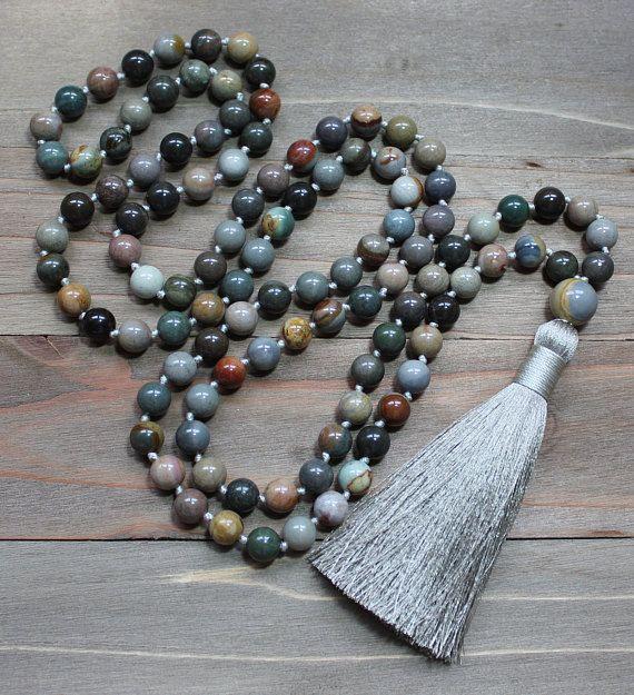 Buddhist Prayer Beads Buddhist Mala Buddhist Necklace With Images Mala Bead Necklace Buddhist Mala Buddhist Prayer Beads