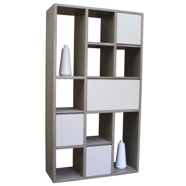 17 meilleures id es propos de bibliotheque chene sur pinterest etagere chene bureau chene. Black Bedroom Furniture Sets. Home Design Ideas