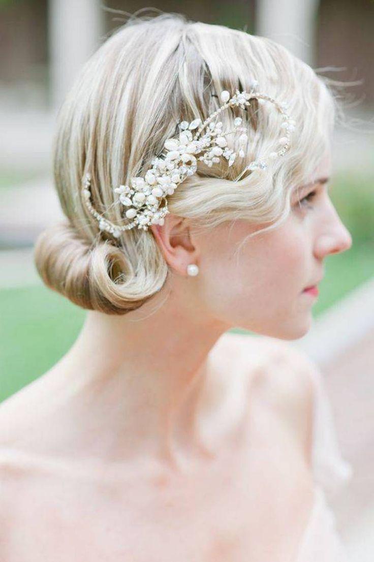 156 best wedding hairstyle images on pinterest hair eyes and updo medium length hair styles for wedding junglespirit Choice Image