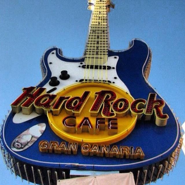 Hard Rock Cafe Gran Canaria.