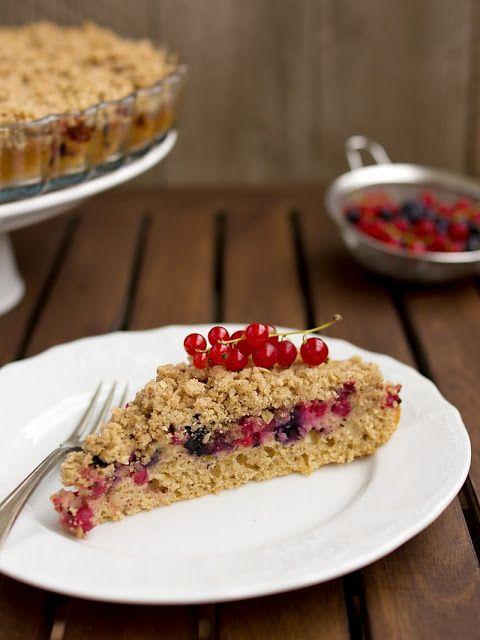 Pradobroty: Ovocný koláč z jogurtového těsta