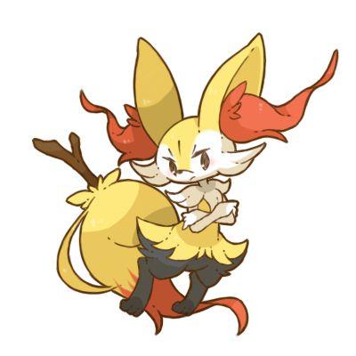 pokemon pixiv fan art gen 6 Pokemon XY Fennekin kalos braixen ...