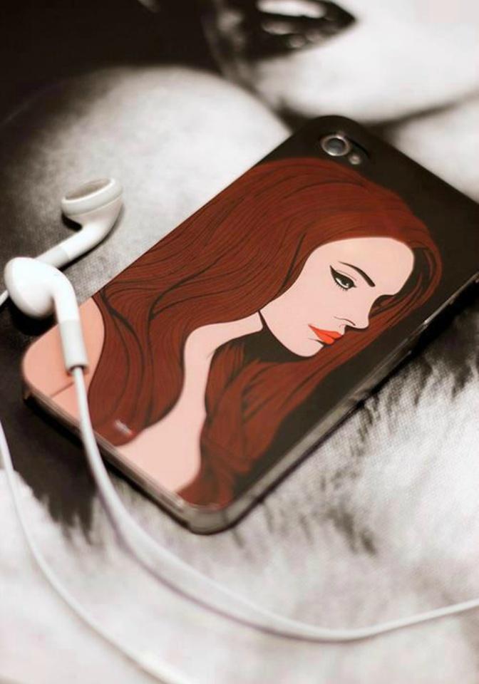 lana phone cover!?!?!?!?