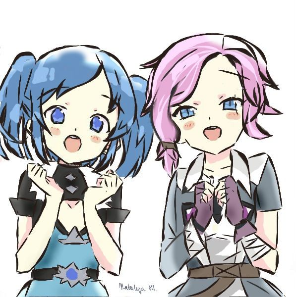 Evie And Maeve By Natalija-hl.deviantart.com On
