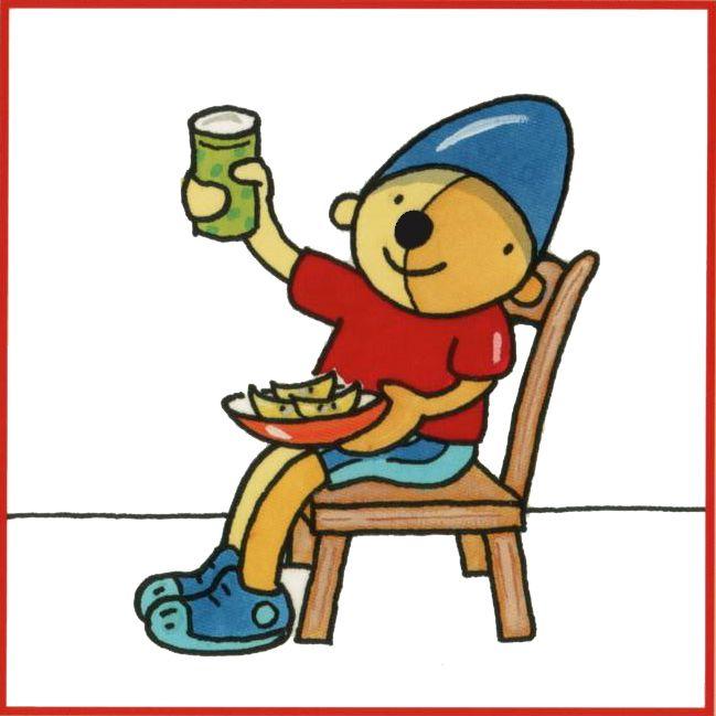 Dagritmepakket Pompom: eten en drinken