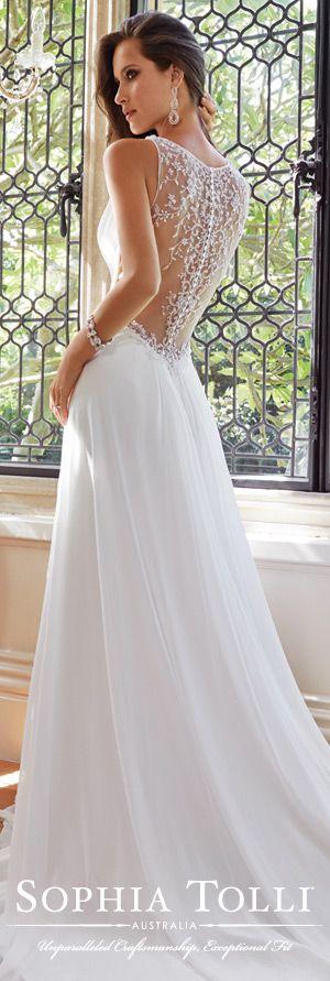 The Sophia Tolli Wedding Dress Collection - Style No. Y21435 Joanne www.sophiatolli.com #weddingdresses #weddinggowns