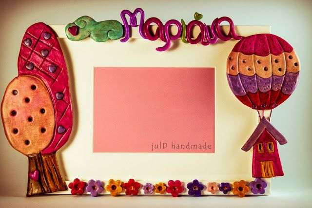 julD handmade: Girly frames