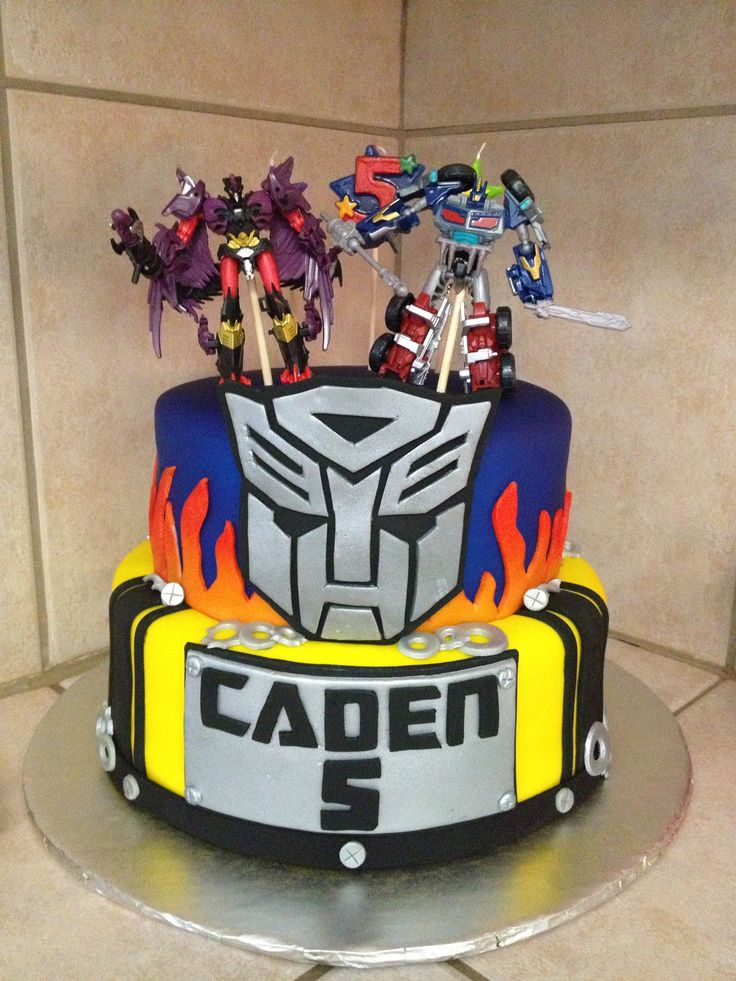 Transformers cake idea