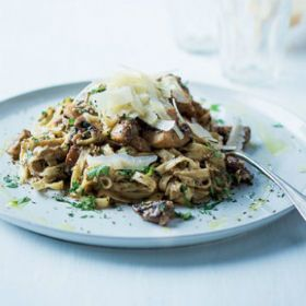 Mixed+mushroom+pasta+