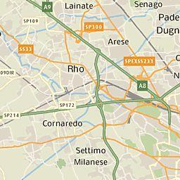 Mappa e cartina geografica Provincia di Milano | Tuttocittà