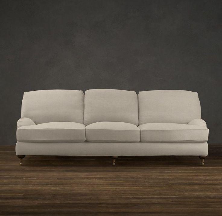 "108"" English Roll Arm Upholstered Sofa   Sofas   Restoration Hardware"
