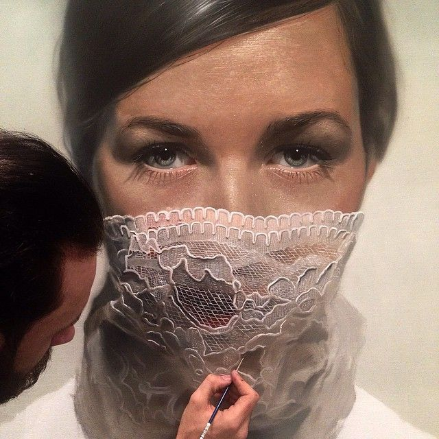 La pintura fotorrealista de Mike Dargas roza lo increíble