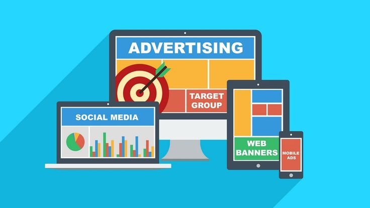 INTERNET ADVERTISING Illustration of internet advertising on multiple devices- target group, social media, web banners and mobile ads. #internet #advertising #marketing #ad #ads #online #target #targetgroup #chart #social #socialnetworks #socialmedia #banners #banner #web #mobile #mobileads #flat #flatdesign #blue #red #green #yellow #devices #macbook #laptop #mac #computer #tab #tablet #ipad #iphone