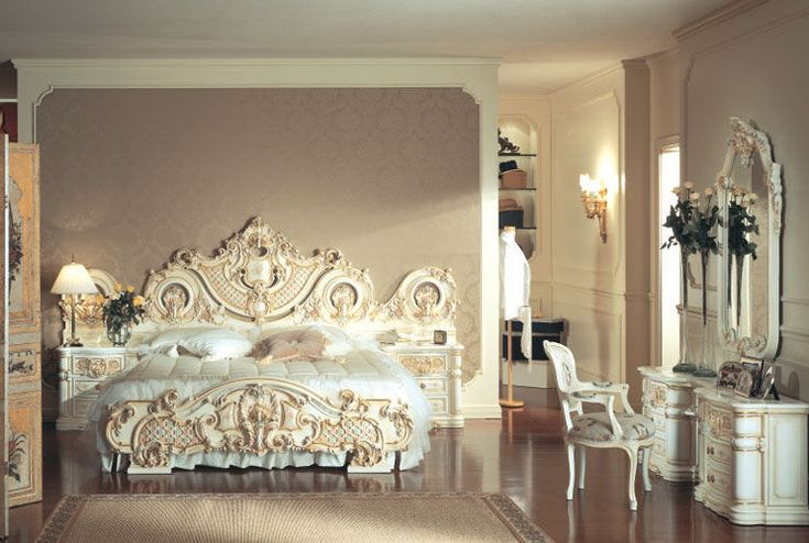 99 Best Rococo Bedrooms Images On Pinterest