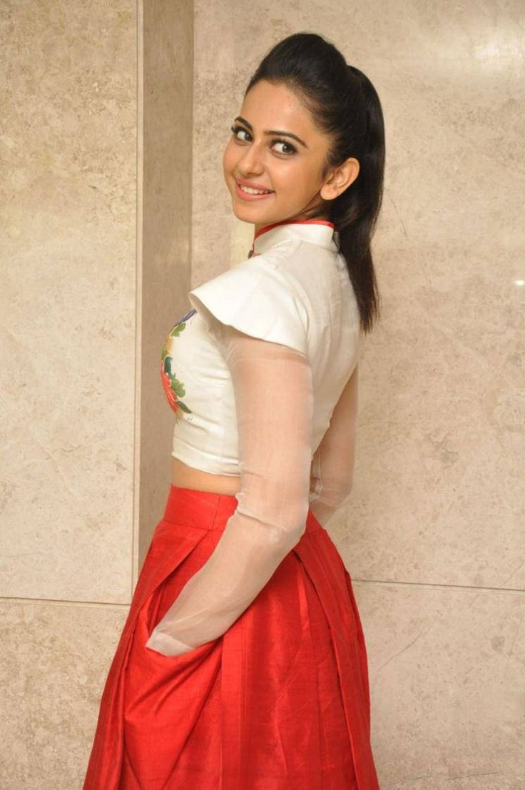 Rakul Preet Singh Photos In White Dress