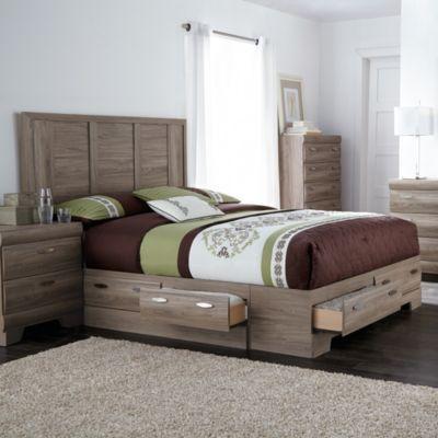 Best Clarissa Panel Storage Bed Ensemble Sears Sears 400 x 300