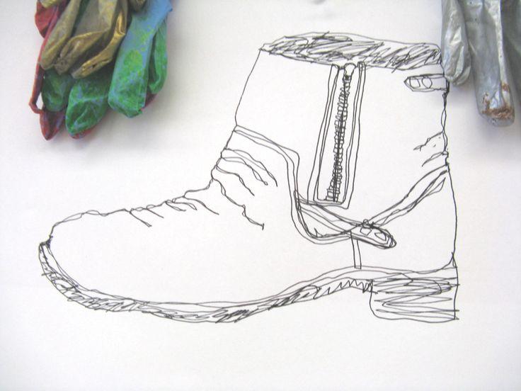 Contour Line Drawing Shoes Lesson Plan : 63 best contour line images on pinterest contours