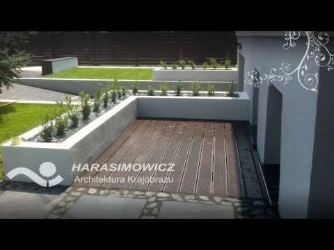 Ogród w stylu nowoczesnym.  #projektowanie ogrodów, #hurtownia kamienia, #projektowanie ogrodów Toruń, #projektowanie ogrodów Bydgoszcz, #ogrody Toruń, #ogrody Bydgoszcz
