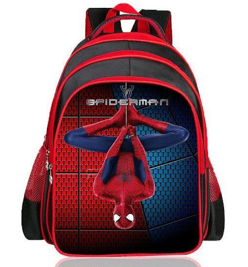 Hot Cartoon Spiderman Backpacks For Kids Children School Bags Primary Backpack Boy mochila